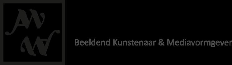 Logo AW, Beeldend Kunstenaar en Mediavormgever